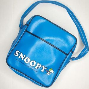Handbags - Peanuts Vintage Snoopy Keep Em Flying Vinyl Bag